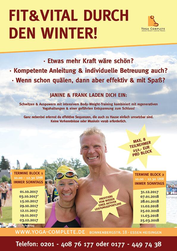 Yoga Complete Janine Nagel Bonnenbergstr. 18 45259 Essen - Heisingen - Kurse